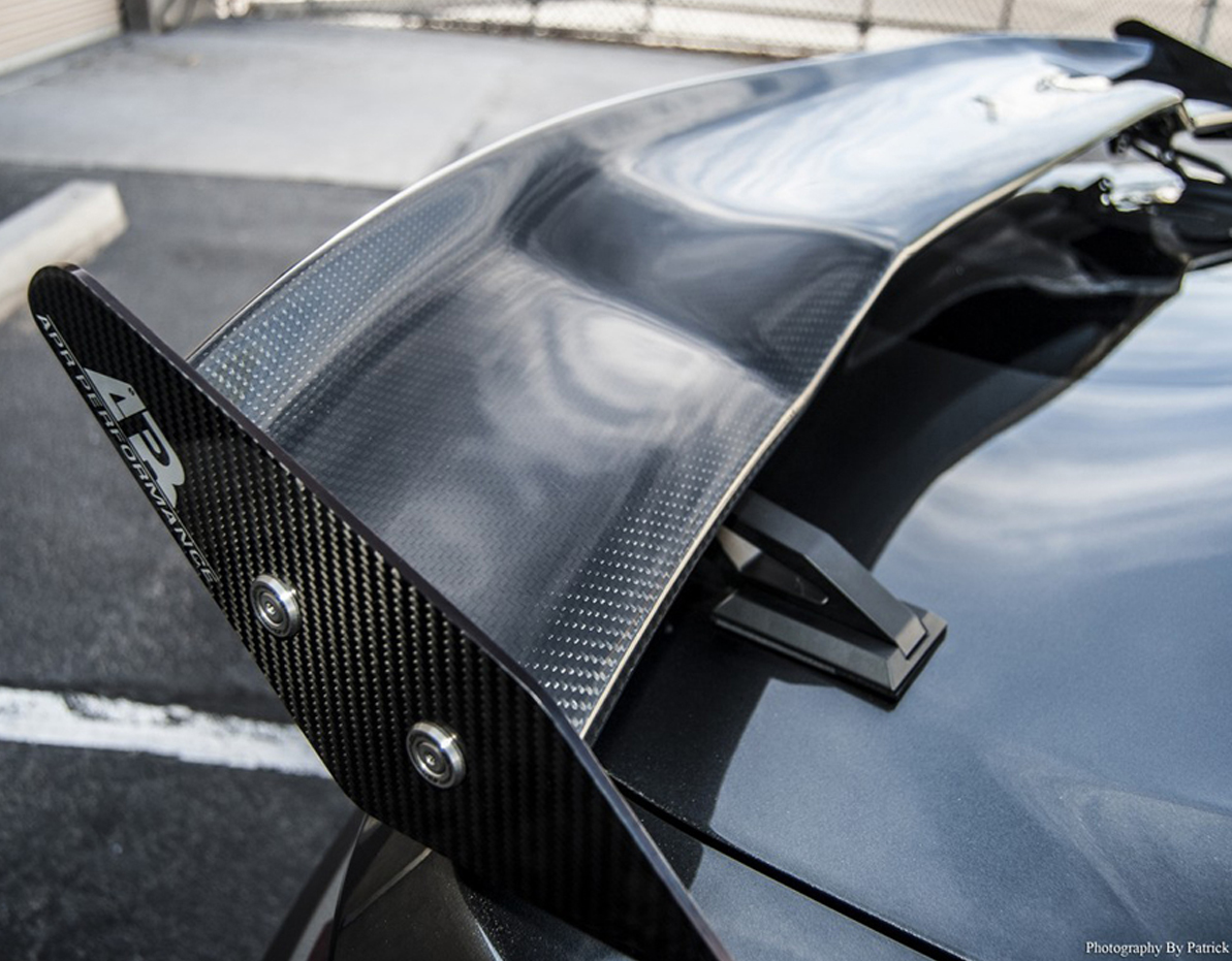 APR Mustang Drag Rear Carbon Fiber Spoiler 2015 2016