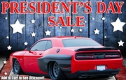 PRESIDENT'S DAY SALE - GET UP TO $25 BY ADDING TO CART!