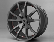 CDC Challenger Outlaw Wheel 20x10 2008-2015 Gunsmoke Dark Grey Satin