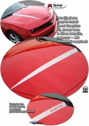 Chevrolet Camaro Hood Enhancement Spear Graphics Kit 2010-2013