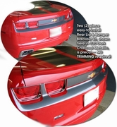 Chevrolet Camaro Rear Lid & Bumper Blackout Kit 2010-2013