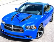 Dodge Charger RR Hood Graphic Kit 7
