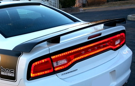 Dodge Charger Super Bee Rear Spoiler 2011 2014 Abs 318a