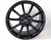 "Ford Mustang Black Mamba 20"" Wheels, Set of 4, Staggered, Satin Black 2005-2016"