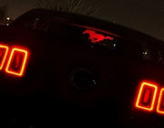 Ford Mustang Coupe Display Screen Illuminated + Etched 2011-2014