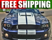 Ford Mustang GT500 Supercharger Mongoose Hood 2010-2013