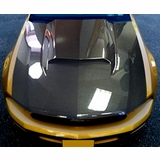 Ford Mustang OEM Carbon Fiber Hood and Hood Scoop 2010-2012