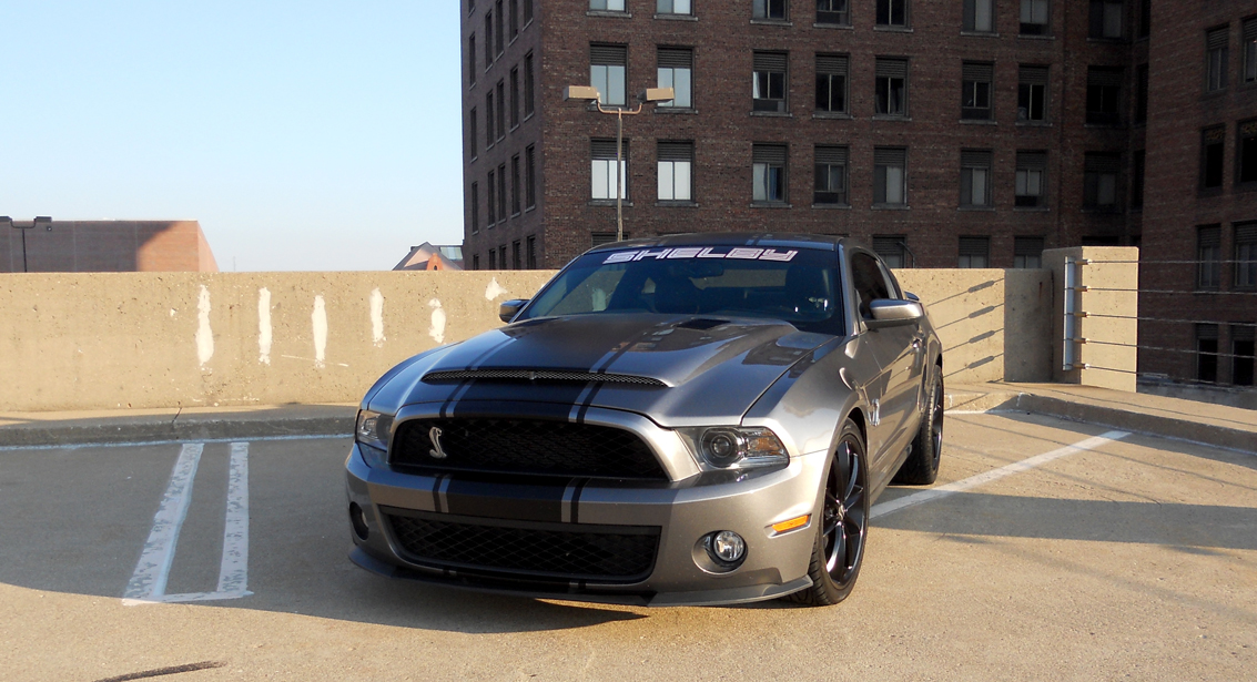 ford mustang to gt500 conversion kit w mamba hood 2010 2014 - 2014 Ford Mustang Gt Black