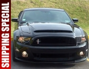 Ford Mustang V6 GT to GT500 Conversion Kit w/ Black Mamba Hood 2010-2014