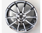 Mustang Black Mamba Chrome 20inch Wheels, Staggered Set 2005-2017