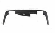 OEM-style carbon fiber rear lip for 2009-2011 Dodge Challenger
