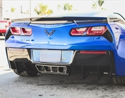 RKSport Corvette Stingray C7 Rear Diffuser 2014-2016