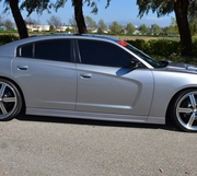 RKSport Dodge Charger Side Skirts 2011-2014
