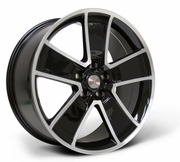 SLP Chevrolet Camaro Gloss Black Wheels with Machined Face 2010-2014