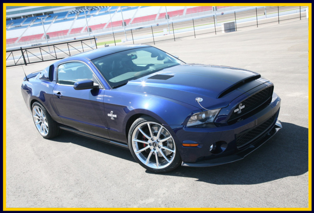 Supersnake Ford Mustang Shelby GT500 Hood 2010-2014