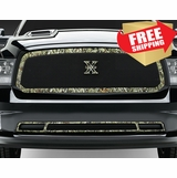 T-Rex Dodge Ram 1500 Main Grille G2 Camo Graphic X-Metal 2013 2014