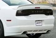 Xenon Dodge Charger Rear Bumper Spats 2011-2014