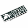 Michigan State Spartan Pride Money Clip