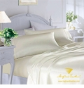 """Savannah"" 100% Silk Sheet & Duvet Cover Set"