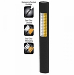 NightStick LED Flashlight Dual Color alternating Amber & White Floodlight