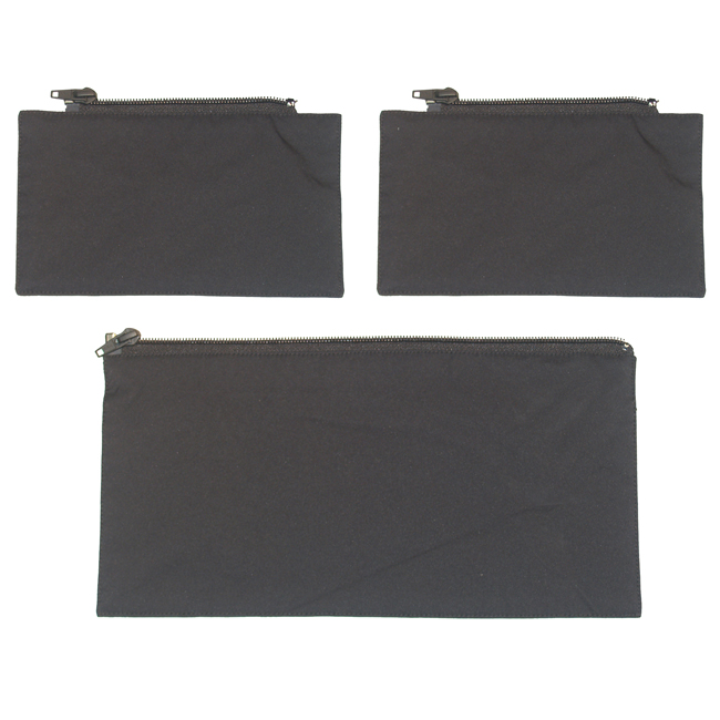 Blank Flaps for Drop Panel Black