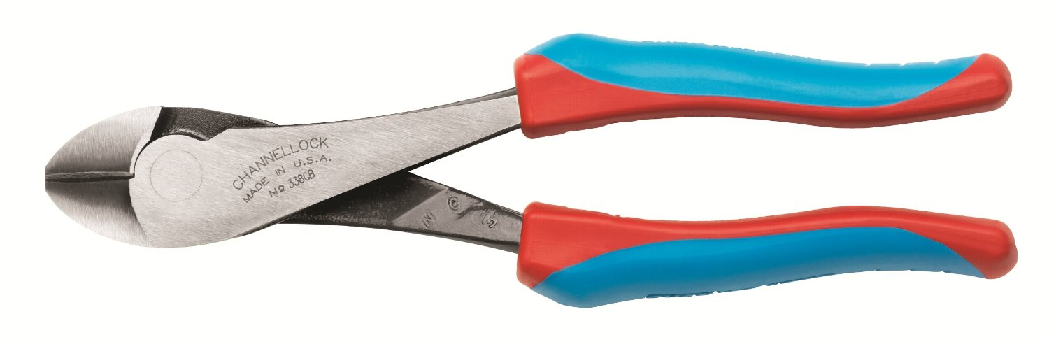 """Channellock 338 Code Blue 8"""" Cutting Pliers"""