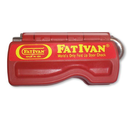 FatIvan Firefighter Door Chock With Magnet
