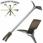 Fire Hooks Unlimited Wide-Adz Pro Bar Halligan Tool