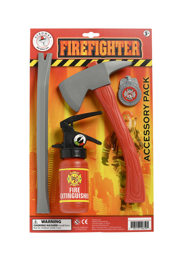 Firefighter Kids Accessory Set