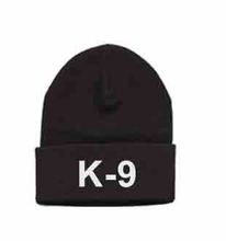 K9 Embroidered Watchcap