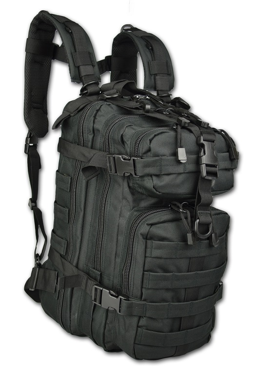 Lightning X LXBP89 Small Tactical Assault Backpack - Military Outdoor MOLLE Day Pack