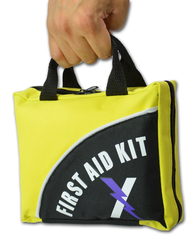 Lightning X LXFAK1-FY 104 Piece Nylon First Aid Survival Kit