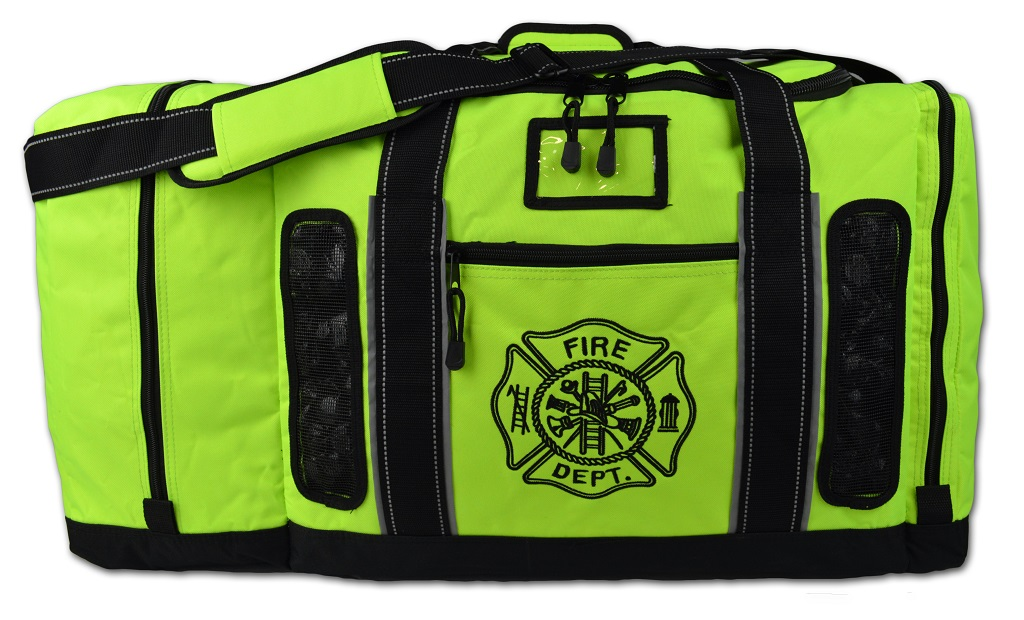 Lightning X Quad-Vent Turnout Gear Bag - FLUORESCENT YELLOW