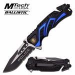 MTech USA MT-A865PD Spring Assisted Police Knife (THIS KNIFE IS ON BACKORDER UNTIL THE END OF MAY 2017)