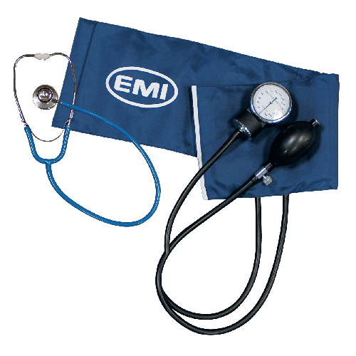 Procuff Sphygmomanometer Set w/Blue Dual Head Stethoscope