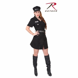 Rothco Women's Black Police Costume