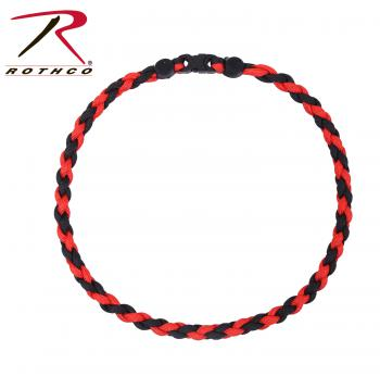 RTH-92330 Rothco Thin Red Line Paracord Bracelet