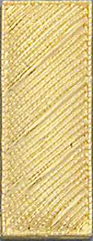 Smith And Warren Collar Brass Insignia -  LT/LARGE/CORRUGATED PAIR