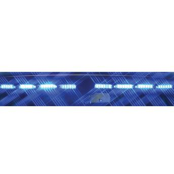 SoundOff Signal nForce Interior Windshield Lightbar 9 LED - Single Color - PASSENGER