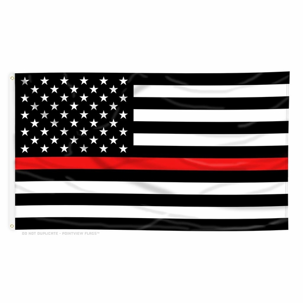 Thin Red Line Firefighter Support Items