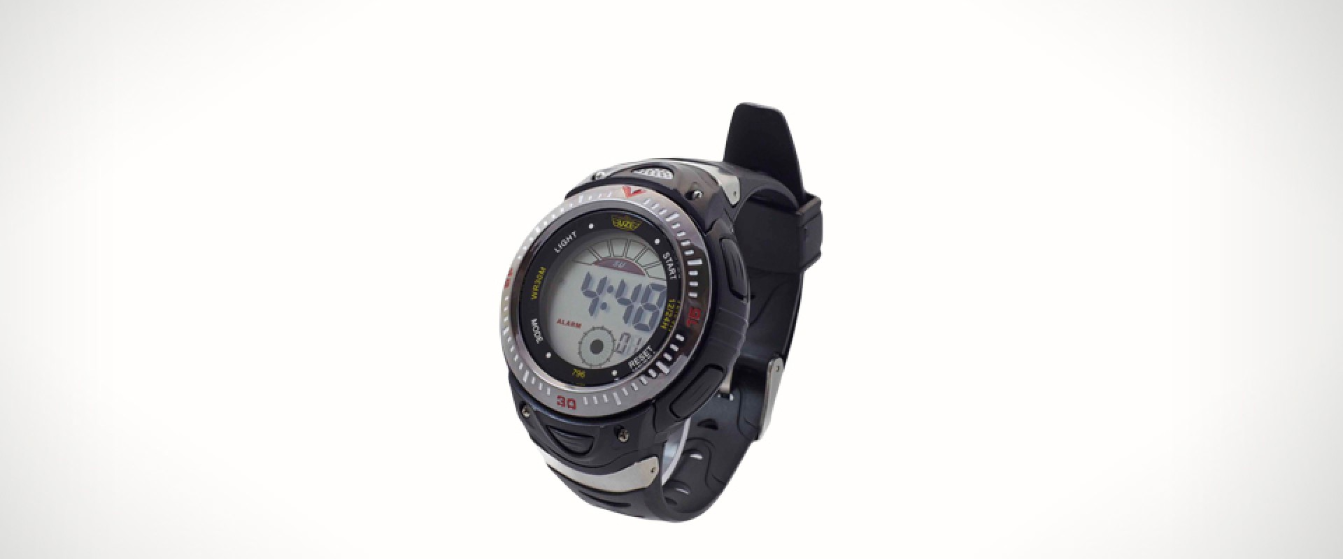 UZI Digital Watch - Rubber Watch
