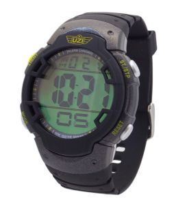 UZI Guardian Watch With Rubber Strap