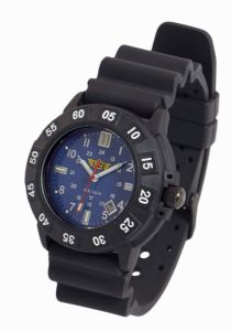 UZI Protector Watch - Blue Face