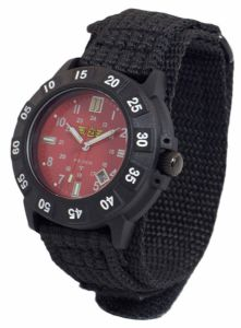 UZI Protector Watch - Red Face