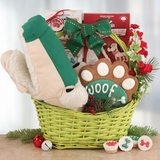 Gator Fun Holiday Gift Basket for Dogs