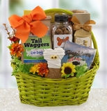 Goodies for Dog and Owner Halloween Gift Basket