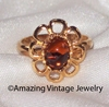 CINNAMON FLOWER Ring