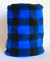 Blue & Black Plaid