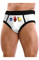 Eye Heart Ewe - MensBrief Underwear