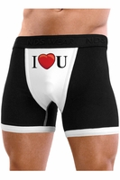 I Heart U - Mens Boxer Brief